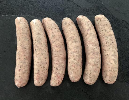 Jumbo Lincolnshire Sausages