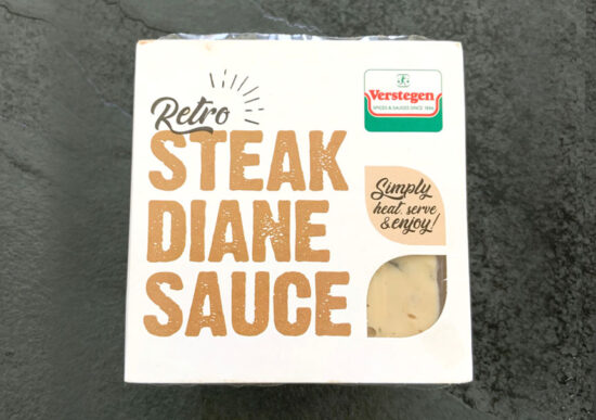Retro Steak Diane Sauce